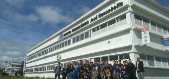 Estudiantes de la especialidad Plantas Industriales visitaron el Parque Industrial Alvear (PIA)
