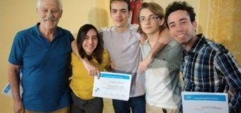 Olimpíada Argentina de Física: El Poli 1°, 3° y Mención de Honor